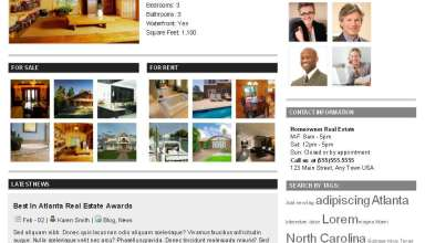 homeowner gorilla themes avjthemescom - Homeowner Real Estate Wordpress Theme