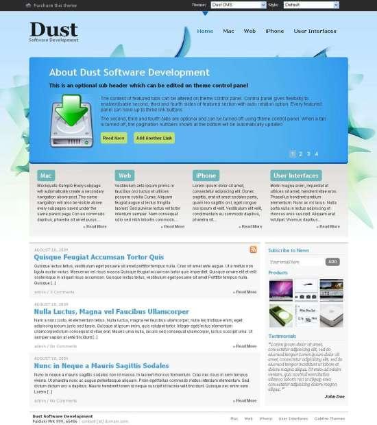 Dust Studiopress Theme