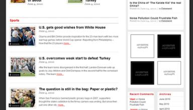 newsflash templatic wordpress theme - NewsFlash Premium WordPress Theme