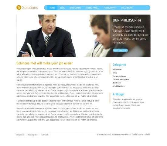 solutions viva wordpress theme 550x483 - Solutions Wordpress Theme
