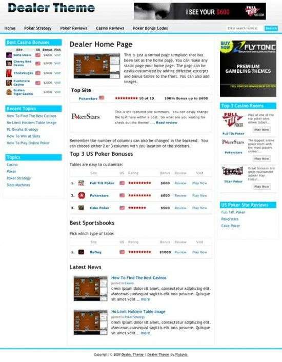 Dealer wordpress Theme 550x706 - Flytonic Premium Wordpress Themes