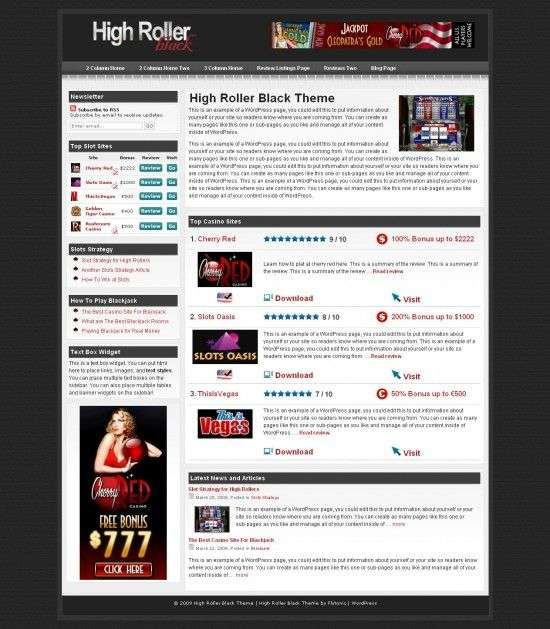 high-roller-black-wordpress-Theme
