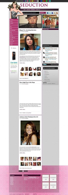 seduction Gorilla Themes 529x1500 - Seduction Magazine Premium Wordpress Theme