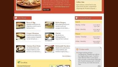 gourmet premiumthemes.net wordpress theme - Gourmet Wordpress Theme