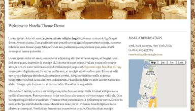 hotelia proud wordpress theme - Hotelia Premium WordPress Theme