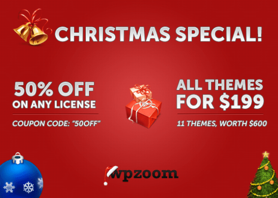 Wpzoom New year coupon code