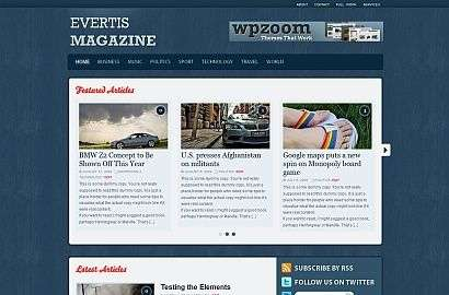 evertis - Wpzoom Premium Wordpress Themes
