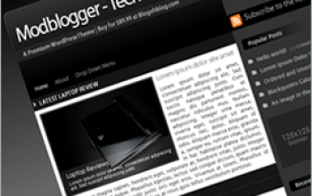 modblogger tech blogohblog - Blogohblog Premium Wordpress Themes