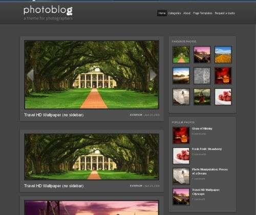 photoblog wordpress theme - Wpzoom Premium Wordpress Themes