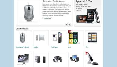eshop ecommerce templatic themes - eShop eCommerce Wordpress Theme