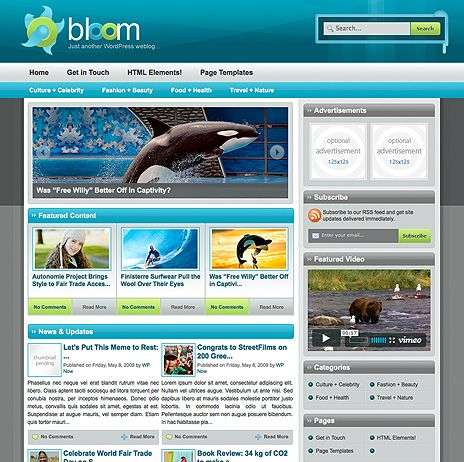 bloom wpnow theme - WpNow WordPress Themes