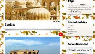 ecotravel wordpress theme - eCOTravel Premium WordPress Theme