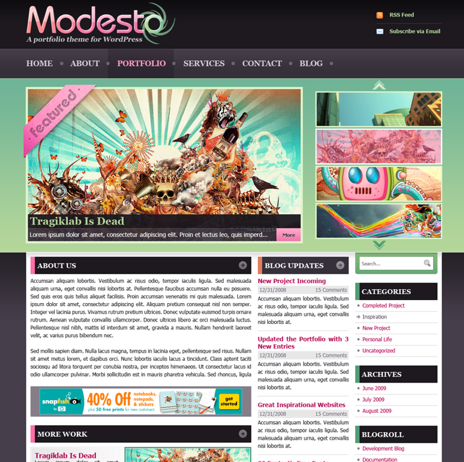 modesto - WpNow WordPress Themes