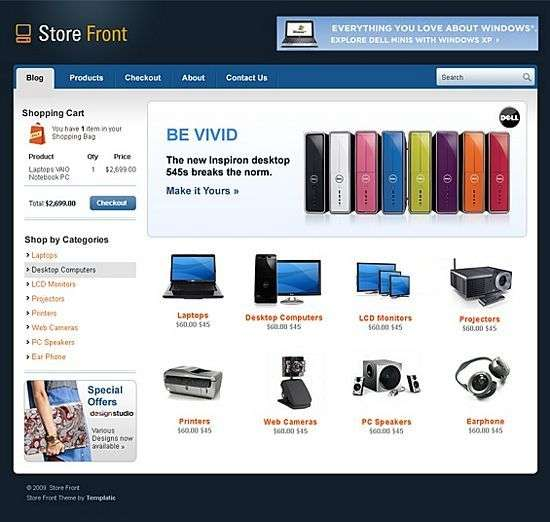 store front wordpress theme - Store Front Premium WordPress Theme