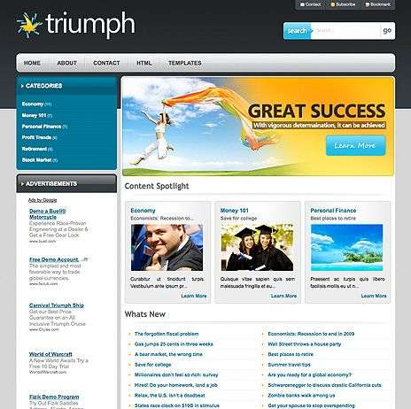 triumph wpnow theme - WpNow WordPress Themes
