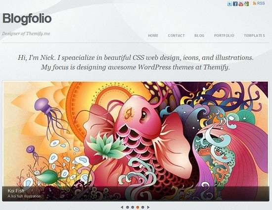 Blogfolio - Themify Premium WordPress Themes