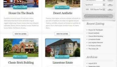 ElegantEstate WordPress Theme - ElegantEstate Premium WordPress Theme