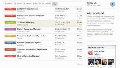 jobroller premium job listing theme - JobRoller Premium WordPress Theme