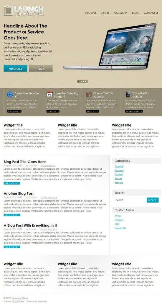 launch themejam theme 550x1032 - ThemeJam Launch Premium WordPress Theme