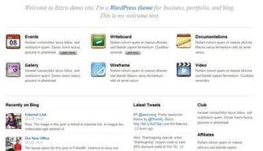 bizco wordpress theme - Bizco Premium WordPress Theme