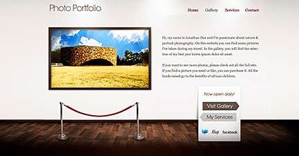 art gallery wordpress theme - Themefuse Premium WordPress Themes