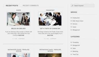 enterprise wordpress theme - Enterprise Premium WordPress Theme