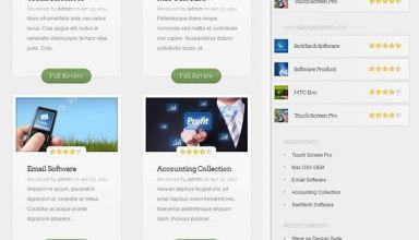 inreview wordpress theme - InReview WordPress Theme