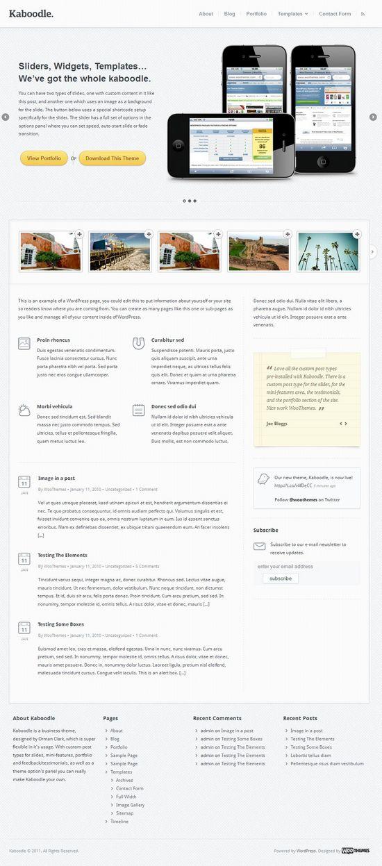 kaboodle wordpress theme - Kaboodle WordPress Theme