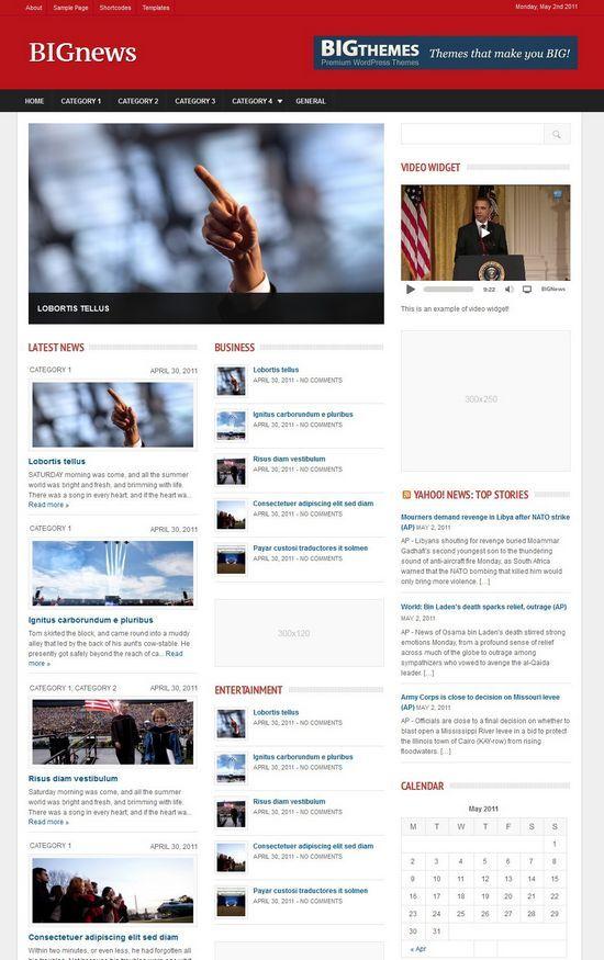 bignews theme avjthemescom - BigNews WordPress Theme