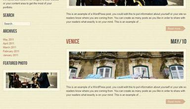 work folio xtreme avjthemescom - VintageFolio WordPress Theme
