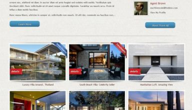dream home furuthemes avjthemescom - Dream Home WordPress Theme
