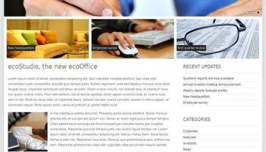 eco studio idesigneco avjthemescom - ecoStudio WordPress Theme