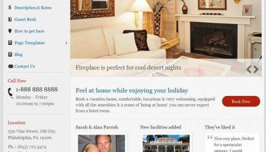 vacation rental templatic avjthemescom - Vacation Rental WordPress Theme