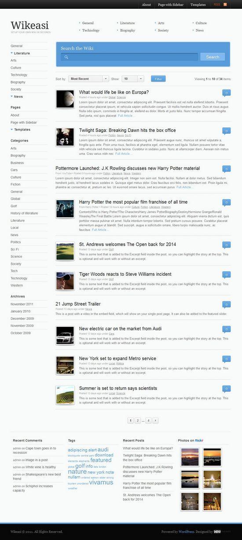 wikeasi woothemes avjthemescom 01 - Wikeasi WordPress Themes