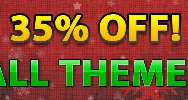 35off - Gorilla Themes Holiday Sales Deal - 35% Off