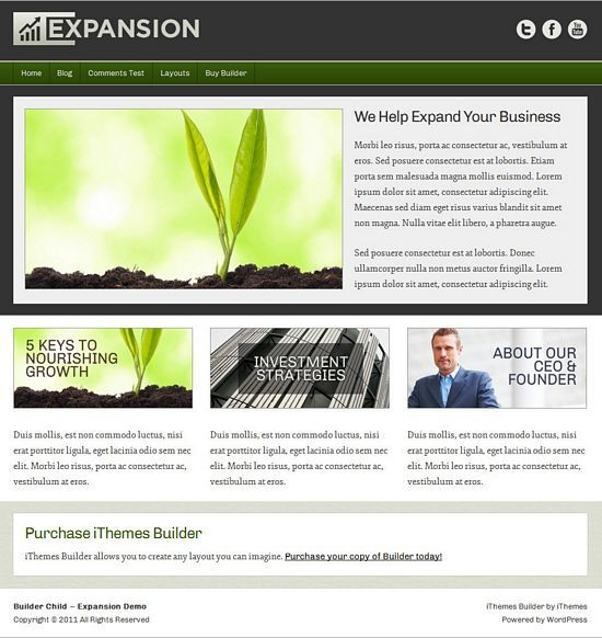 expansion ithemes builder avjthemescom 01 - Expansion WordPress Theme