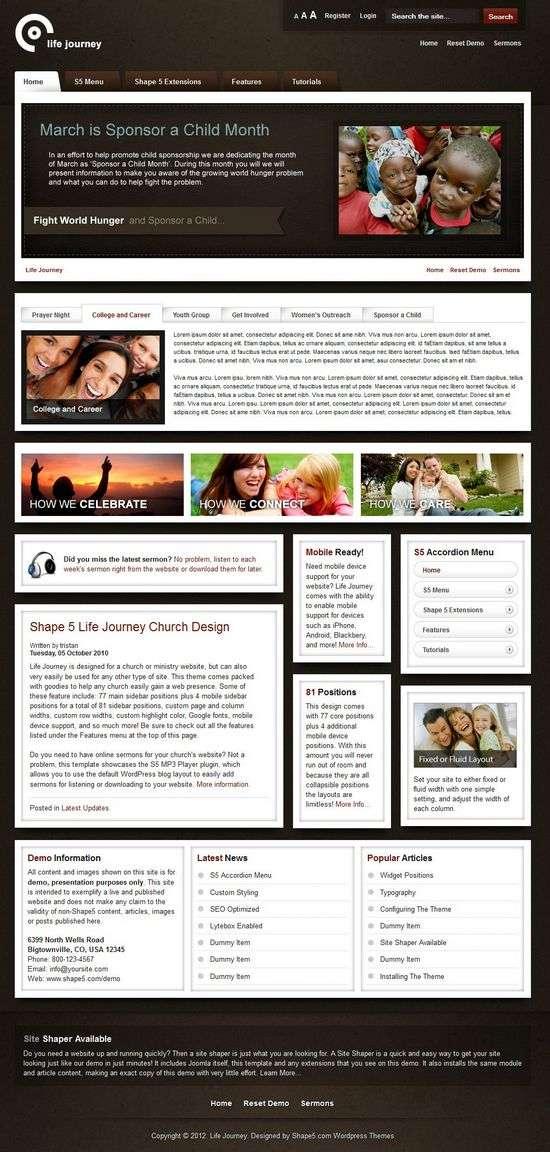 life journey shape5 avjthemescom 01 - Life Journey WordPress Theme