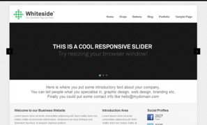 whiteside - Themefurnace Premium WordPress Themes