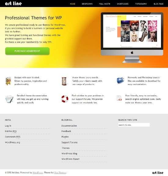 artline vivathemes - Artline WordPress Theme