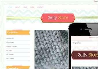 sally store - Bluchic Premium WordPress Themes