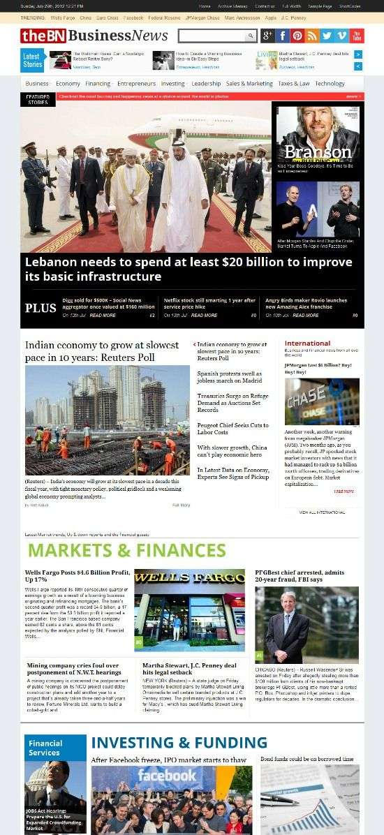 thebusinessnews magazine3 - TheBusinessNews WordPress Theme