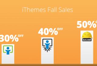 ithemes fallsales - iThemes Fall Sales Discount Code Codes (October 2012)