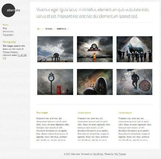 alternate vivathemes avjthemescom 1 - Alternate WordPress Theme