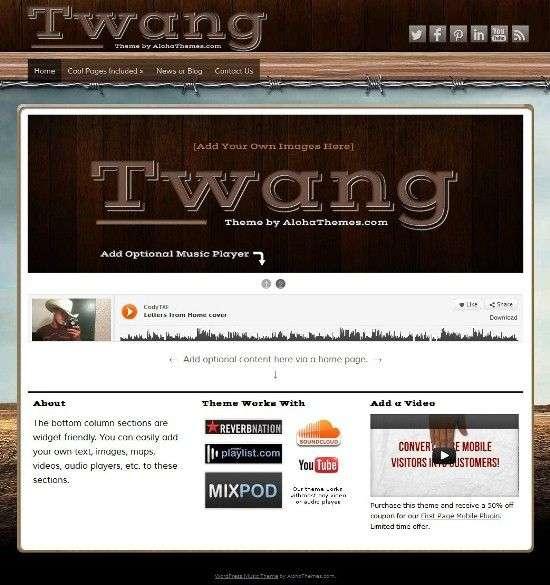 twang alohathemes avjthemescom 01 - Twang WordPress Theme