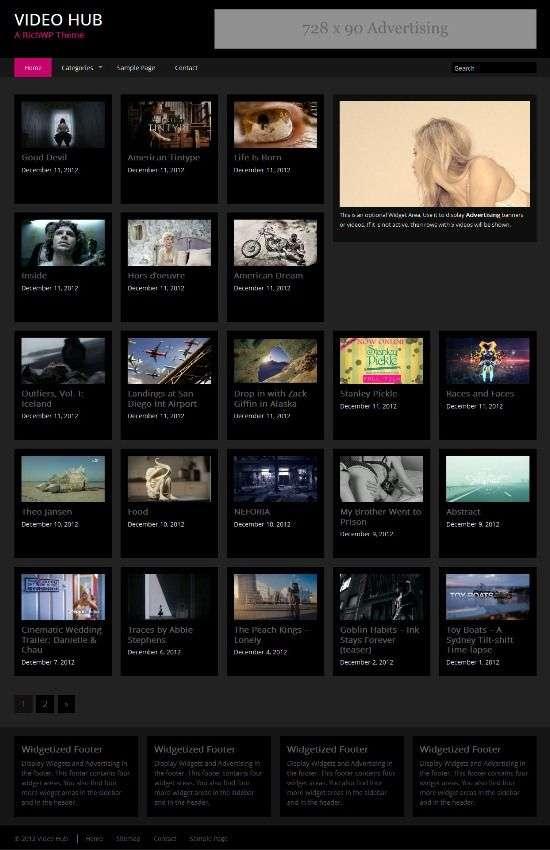 video hub richwp avjthemescom 01 - Video Hub WordPress Theme
