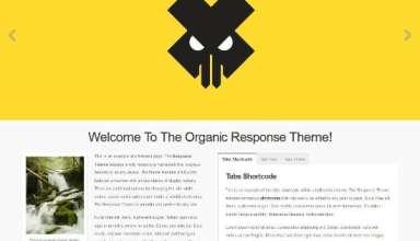 organic response organicthemes avjthemescom 01 - Organic Response WordPress Theme