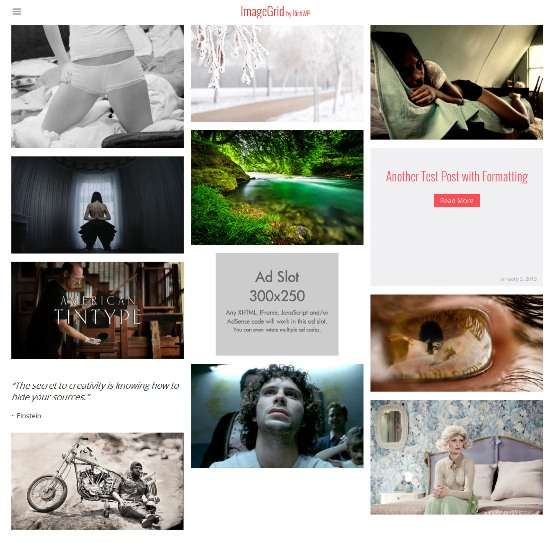 imagegrid richwp avjthemescom 01 - Imagegrid WordPress Theme