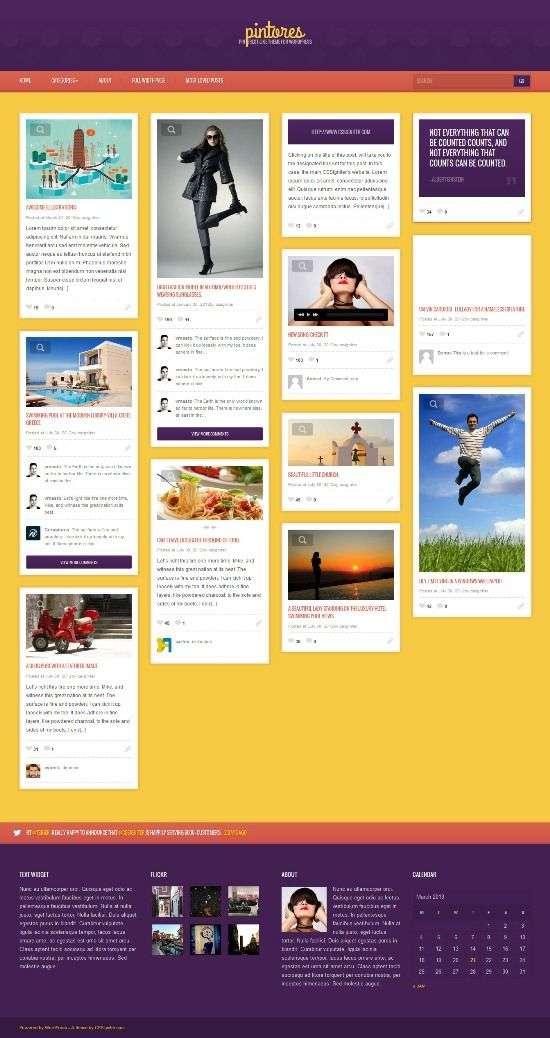 pintores cssigniter avjthemescom 01 - Pintores WordPress Theme