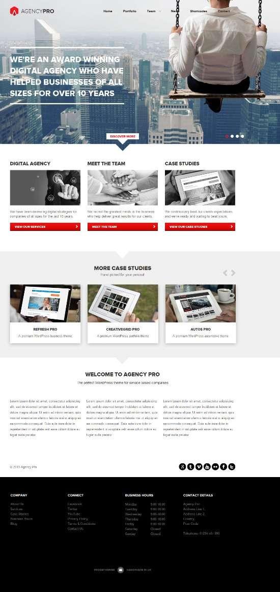 agencypro frogsthemes avjthemecom 01 - AgencyPro WordPress Theme