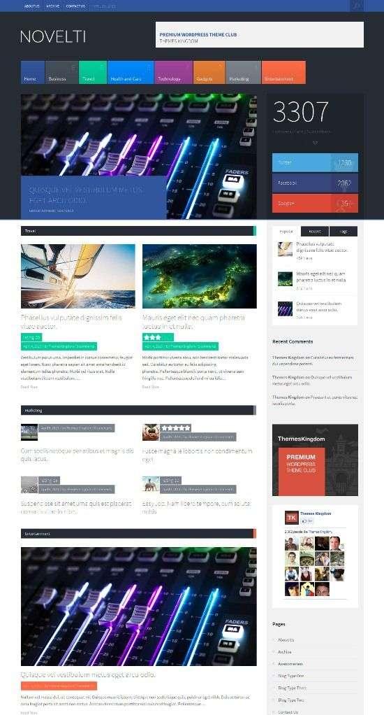 novelti themeskingdom avjthemescom 01 - Novelti WordPress Theme